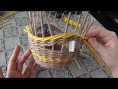 Веревочка из трех трубочек. Плетение из газет - YouTube