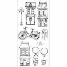 Bike and lamp