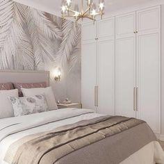 Master Bedroom Interior, Room Design Bedroom, Room Ideas Bedroom, Home Room Design, Small Room Bedroom, Home Decor Bedroom, Stylish Bedroom, Modern Bedroom, Dream Rooms