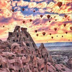 Cappadocia Turkey  Photo by @kyrenian       #travel #Instatravel #travelgram #trip #traveling #travelingram #tourist #tourism #vacation #adventure #tagsforlikes  #instagood #instadaily #instapassport #bestoftheday  #wanderlust  #traveltheworld #amazing  #aroundtheworld #getaway #beautiful #beauty #ourplanetdaily #nature #instamood #earthfocus #lonelyplanet #worldtravelpics #thegreatoutdoors #thisiswow by this.is.wow