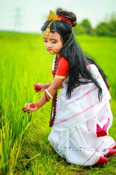 Cute Baby Girl Pictures, Baby Girl Images, Cute Cartoon Girl, Cute Girl Face, Saree Designs Party Wear, Amazing Dp, Bengali Bridal Makeup, Cute Babies Photography, Real Doll
