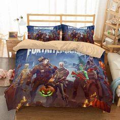 2018 new design game fortnite theme night bedding sets. Black Bedroom Furniture Sets. Home Design Ideas