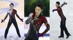 Daisuke Takahashi skating his Pagliacci free program at the 2012 Cup of China and 2012 NHK Trophy. Sources: 1, 2 and 3.