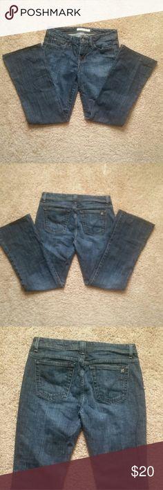 Joe's jeans size 29 Excellent condition, dark wash, bootcut, size 29 super comfy fit! Joe's Jeans Jeans Boot Cut