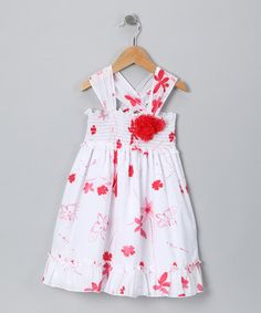 Take a look at this Watercolor Pond Laine Dress - Toddler & Girls by Baby Nay on #zulily today!