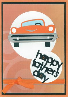 Father's Day card 2011; Cricut elements