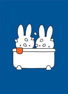 Lekker in bad x