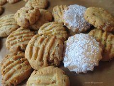 Ζουζουνομαγειρέματα: Μπισκότα με αμύγδαλα! Cupcake Cakes, Cupcakes, Biscotti, Almond, Cookies, Desserts, Food, Pancake, Crack Crackers
