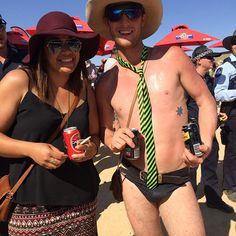 Birdsville races where you can come just in your jocks #birdsville #birdsvilleraces #nicetie by jasis86