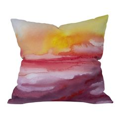 Bring a chic touch of style to your sofa, chaise, or bed with the Jacqueline Maldonado Rise 1 Throw Pillow from DENY Designs, artfully crafted for lasting ap...