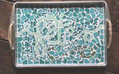 How to Clean That Stubborn Toilet Bowl Ring for .25 Cents | Hometalk Mosaic Glass, Mosaic Tiles, Mosaic Tray, Glass Vase, Mosaic Mirrors, Tile Art, Sea Glass, Cute Diy, Mesh Wreath Tutorial