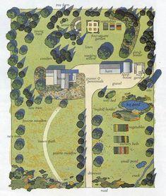A Garden Layout   Gardening Layout