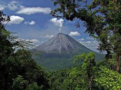 Volcán Arenal (en Costa Rica)