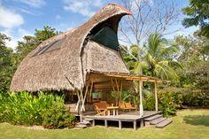 Osa Beachfront Bamboo House