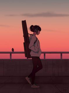Are you alright Cool Anime Wallpapers, Anime Scenery Wallpaper, Anime Artwork, Cartoon Wallpaper, Animes Wallpapers, Girl Wallpaper, Cool Anime Girl, Anime Art Girl, Manga Girl