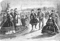 1861.  La Mode Illustree.  Is that a woman?