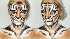 Tiger Halloween Makeup Tutorial