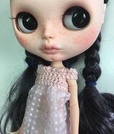 OOAK Custom Blythe Doll named Octavia by EmmyB.lythe by EmmyBlythe