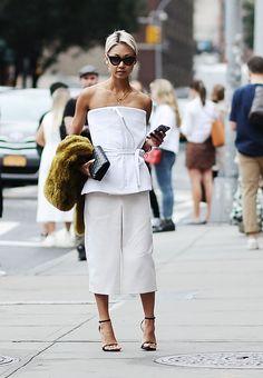 Vanessa Hong à la Fashion Week de New York