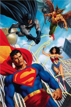 Justice League by Joe Jusko