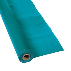 Turquoise Tablecloth Roll - OrientalTrading.com