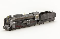 Locomotive: JR West  r C62 form steam locomotive (Free)  Difficulty: Advanced From 1948 it is a super large-sized passenger locomotives 49 locomotives were produced during 1949