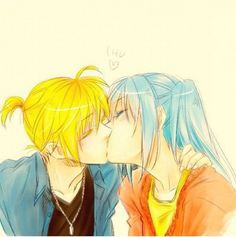 Not a big fan of mikuxlen either but this is cute