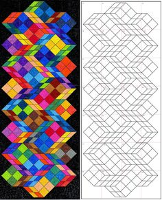 Art Projects for Kids: Optical Art Mural