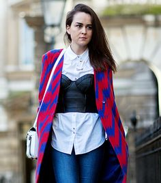 @Who What Wear - Day 2 #lfw  Image viaThe Styleograph
