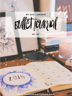 2018 Bullet Journal Set Up | www.hannahemilylane.com