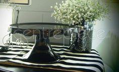 Cake Stand Ceramic Black