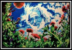 """JERRY GARCIA """"Goin' home, goin' home..by the waterside I will rest my bones, listen to the river sing sweet songs..to rock my soul"""""""