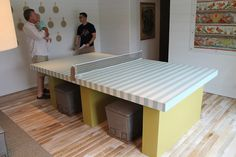 Stylish Ping Ping Pong table