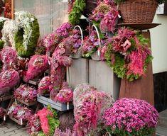 Flower Shop Interiors, Casket Flowers, Grave Decorations, Christmas Wreaths, Christmas Tree, Forever Flowers, Autumn Decorating, Flower Vases, Gift Baskets