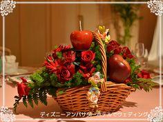 テーブル装花 白雪姫(ゲストテーブル)