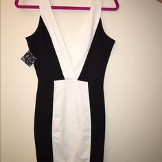 Nasty gal Bond girl dress, never worn! New with tags attached! Extra small Nasty Gal Dresses Mini