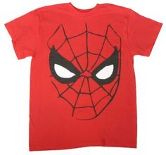 Men's Spiderman Face! http://www.t-shirts.com/mens-spiderman-face-tshirt.html