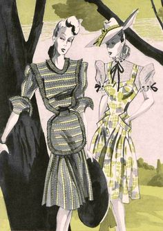 Latest Fashion Trends from Paris    Best outfits, 1943/44
