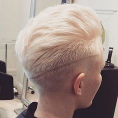 Short Pixie Haircut for Blond Hair