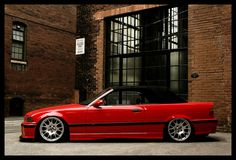 BMW E36 M3 Convertible Hellrot Red