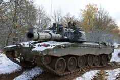 British Challenger 2 tank