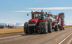 The most fuel efficient power in the industry, Case IH presents the Steiger Series of row crop farming tractors with Selective Catalytic Reduction (SCR) technology. Case Ih Tractors, Old Tractors, Crop Farming, International Tractors, Road Train, New Farm, Engin, Heavy Truck, Road Glide