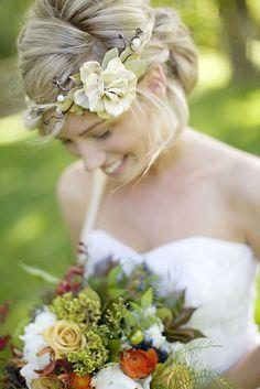 Coronita de crasas :: Flowers in the hair