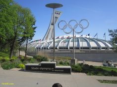 Wanting To Share A Place From Montreal , Canada ~ The Montreal Olympic Stadium