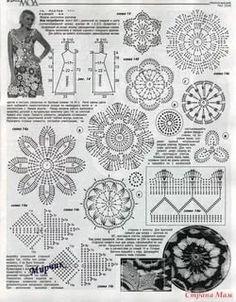 модели вязанных платьев крючком от аси вертен: 14 тыс изображений найдено в Яндекс.Картинках