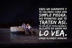 Eres un diamante.  #diamante #piedras #frase #day #valor #tu #see #mexico #no #ver #igual #a #perder #like #versos #heart #true #j #coaching #quotes #me #autor #book #like #world #vales #mucho #remember #it #👍