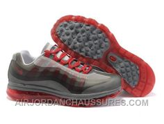 Cheap Men's Nike Air Max 95 & 2009 Shoes Dark Grey/Grey/Red 95 & 2009 Shoes  For Sale from official Nike Shop.