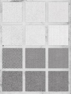 Free Pack of 12 Distressed Halftone Pattern Textures and how to use them