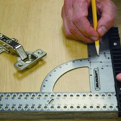 """This metric FramingSquare300 is used to lay out a """"square"""" or right-angle. It can also be used to measure angles with the built in easy angle readout."""