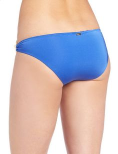 Feels So Right Modest Double Hip Piece Bottom Royal Blue Color Back. More Info & Check Price:  http://www.beachbunnybikini.com/beach-bunny-bikini-feels-so-right-modest-double-hip-piece-bottom/